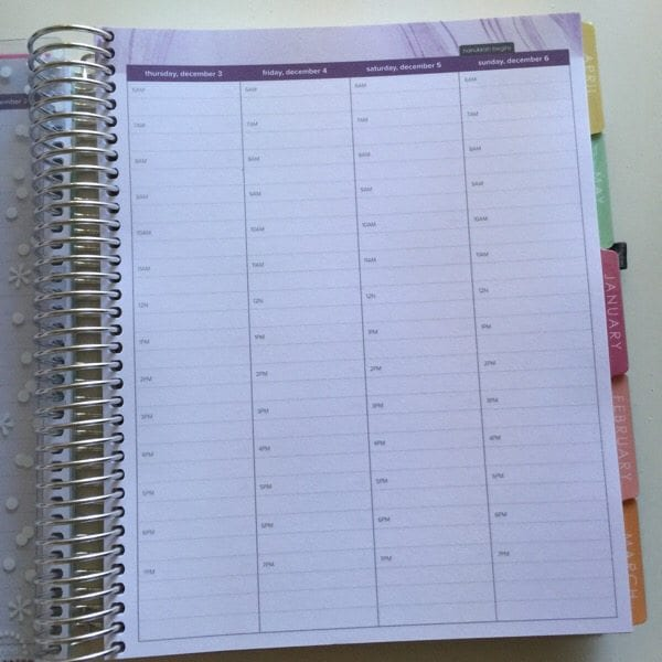 First look erin condren hourly layout planner how to for For planner