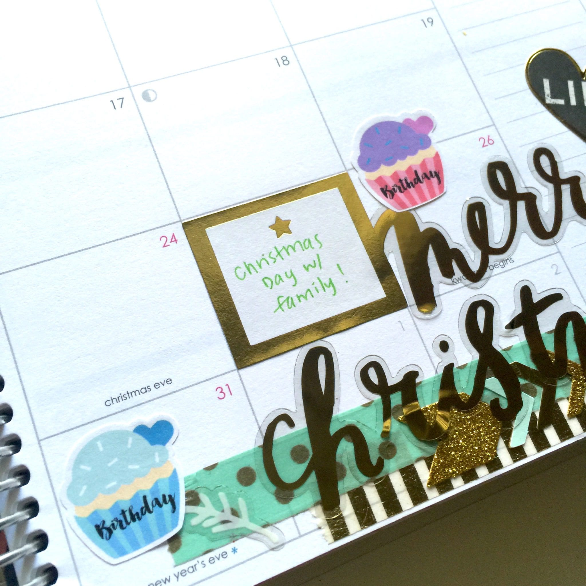 December Monthly Plan With Me | Wendaful Planning
