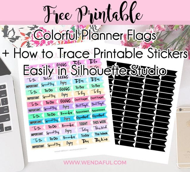 Wendaful Printable Stickers | Planners