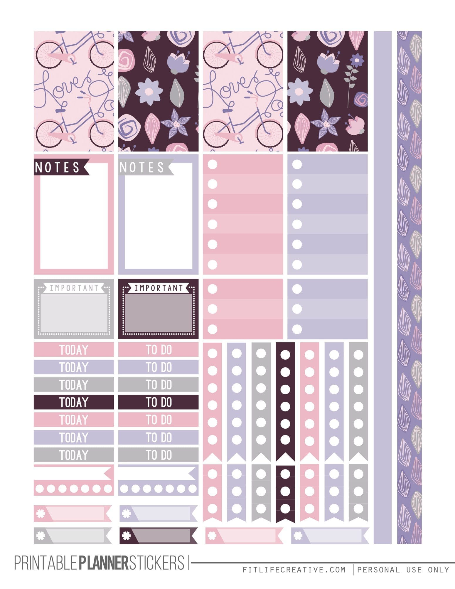 Calendar Planner Stickers : The ultimate list for beautiful free printable planner